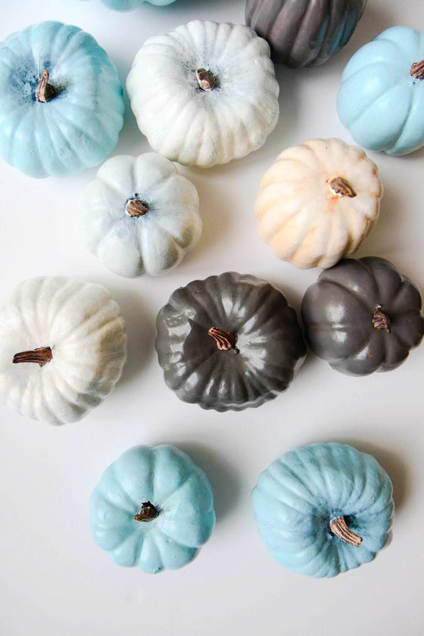 How to Paint Pumpkins With Acrylic Paint from MomAdvice.com