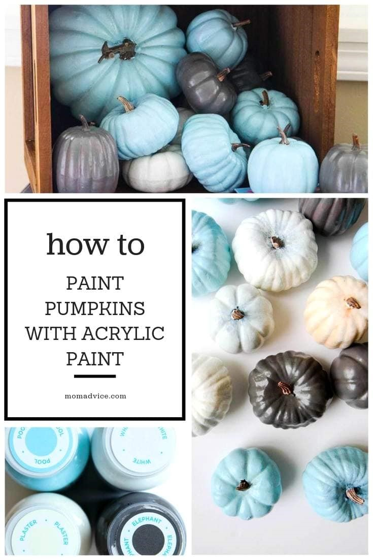 Painting Pumpkins With Acrylic Paints Momadvice