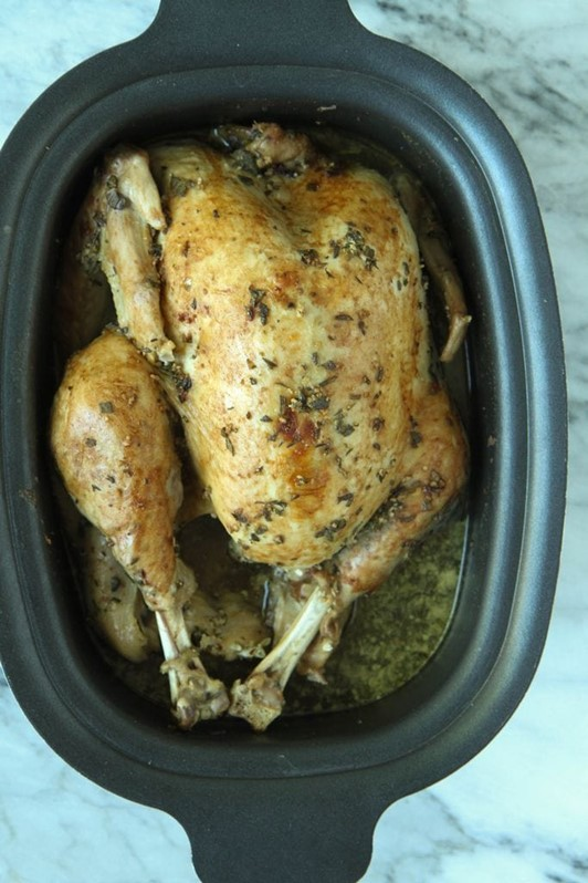 Slow Cooker Thanksgiving Turkey