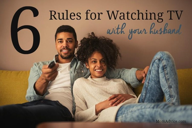 Rules for Watching TV with Hubby
