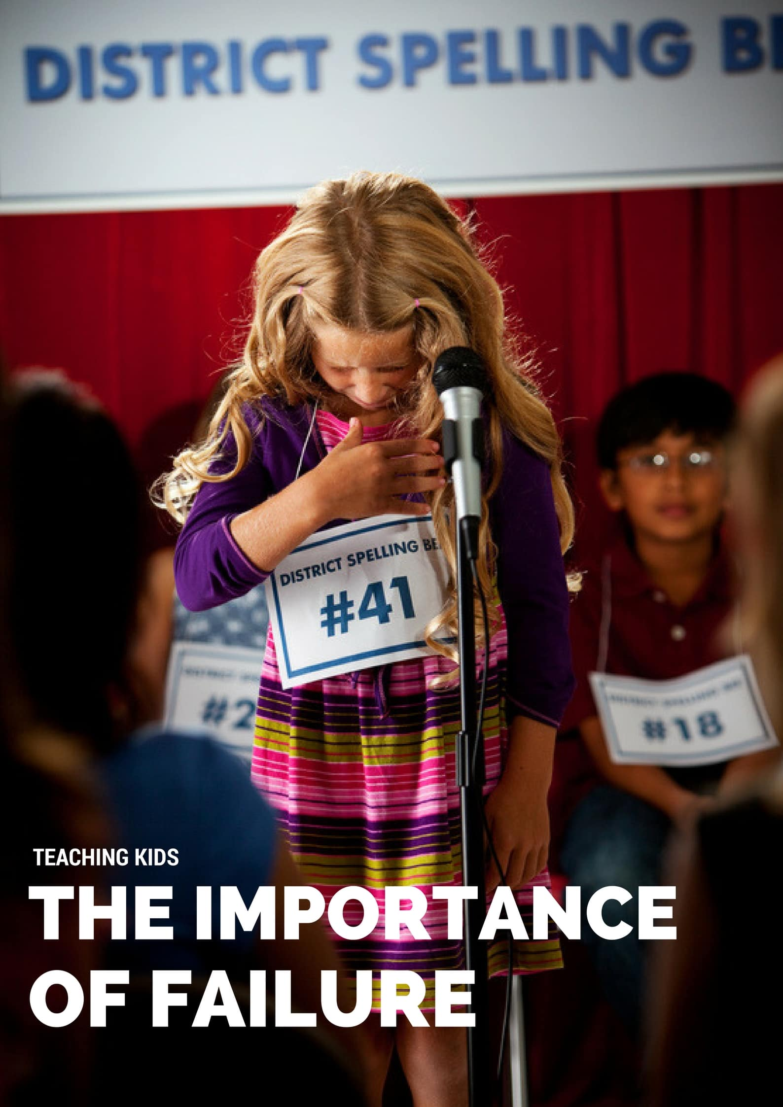 teaching kids the importance of failure