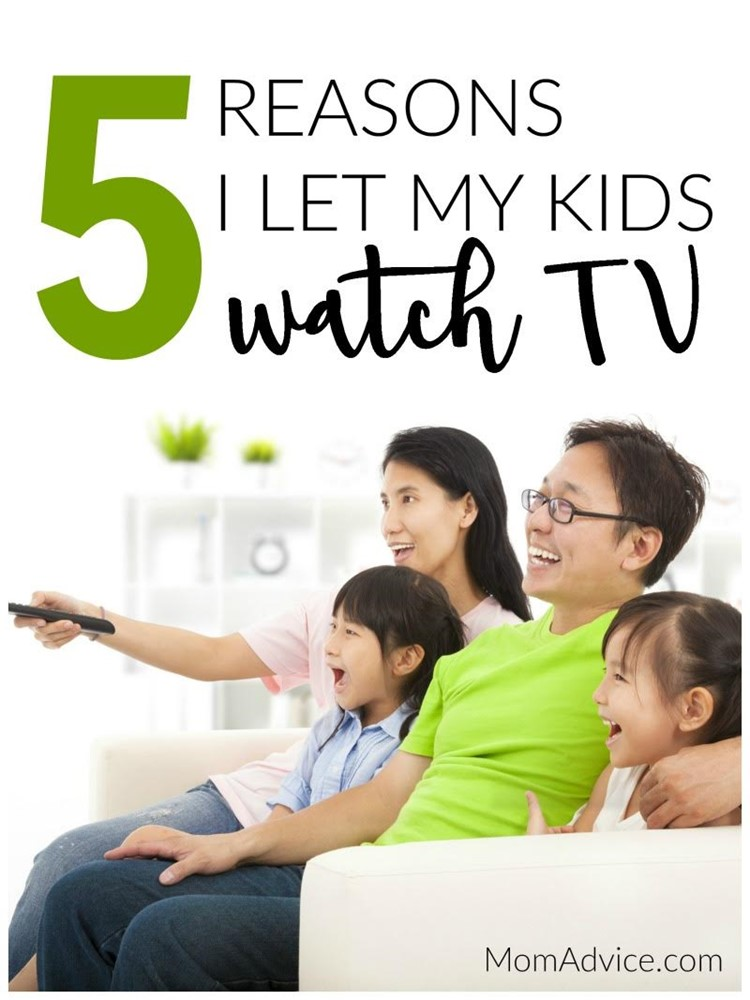 5 Reasons I Let My Kids Watch TV / MomAdvice