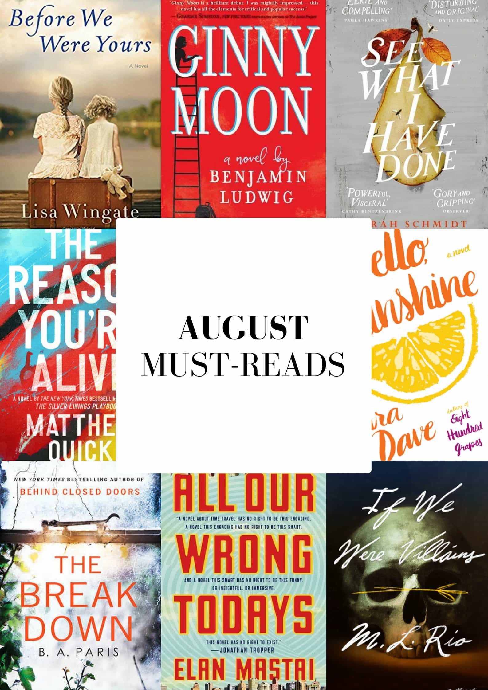 August 2017 Must-Reads