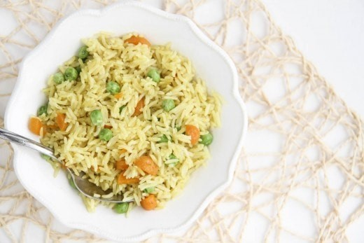 Instant Pot Indian Vegetable Rice