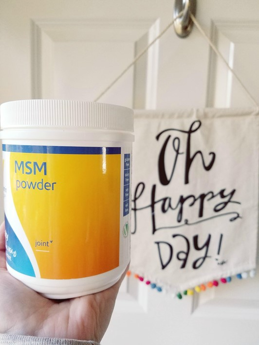 MSM Supplement to Treat Joint Pain