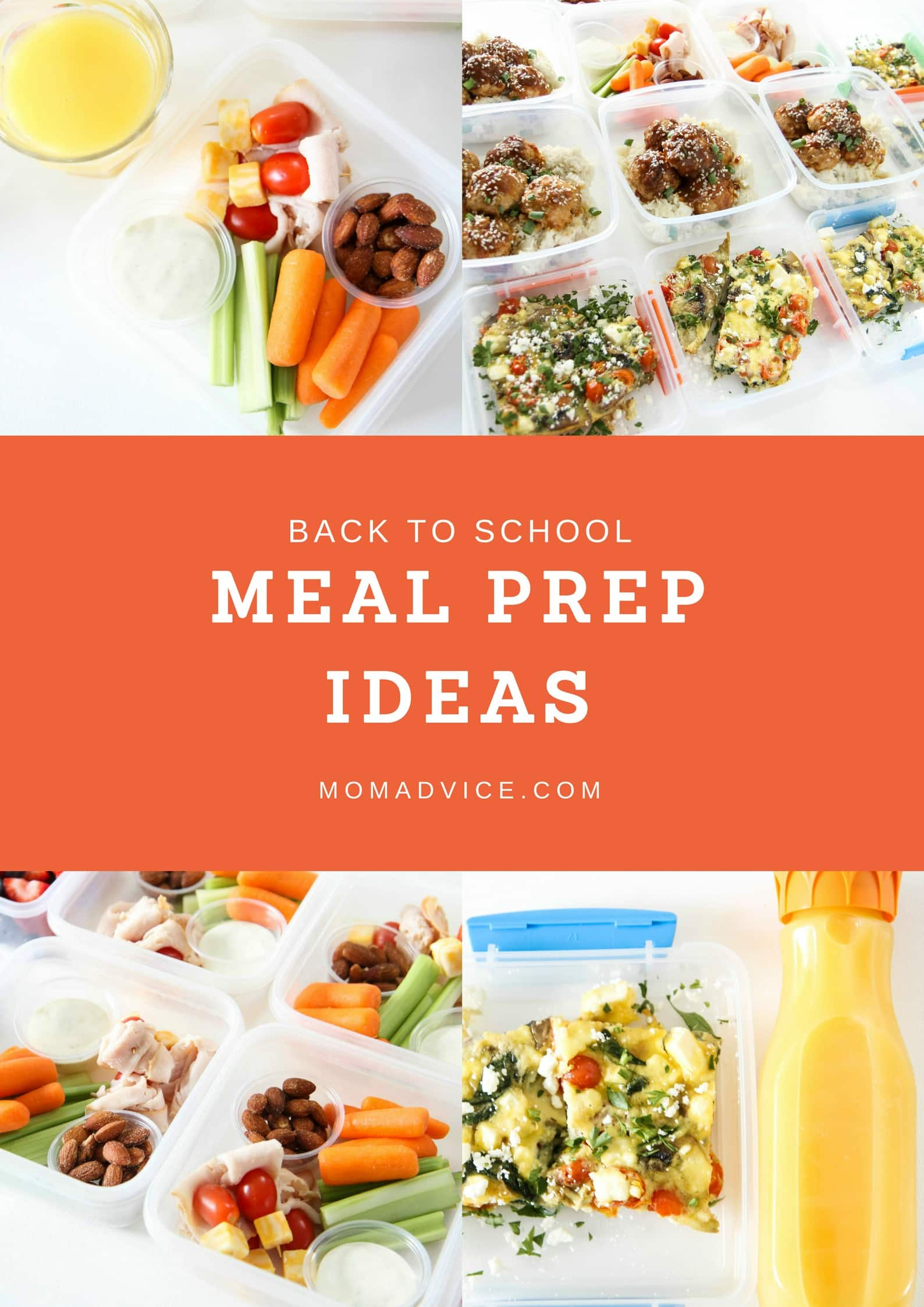 Back-to-School Meal Prep Ideas