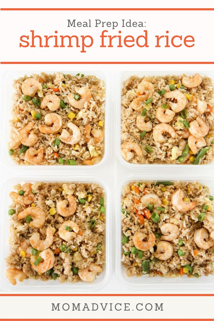 Meal Prep Idea: Shrimp Fried Rice
