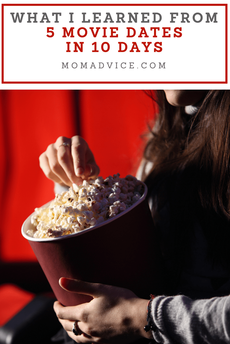 5 Movie Date in 10 Days MomAdvice.com