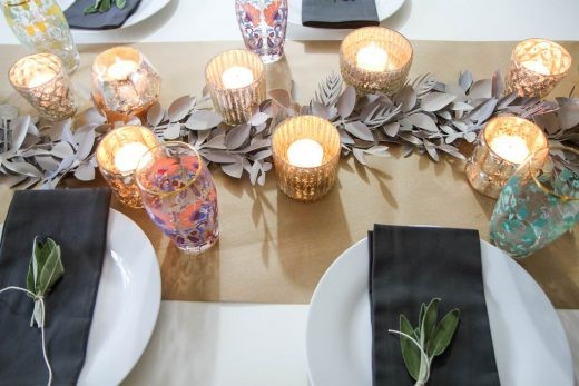 DIY Table Runner for All Seasons