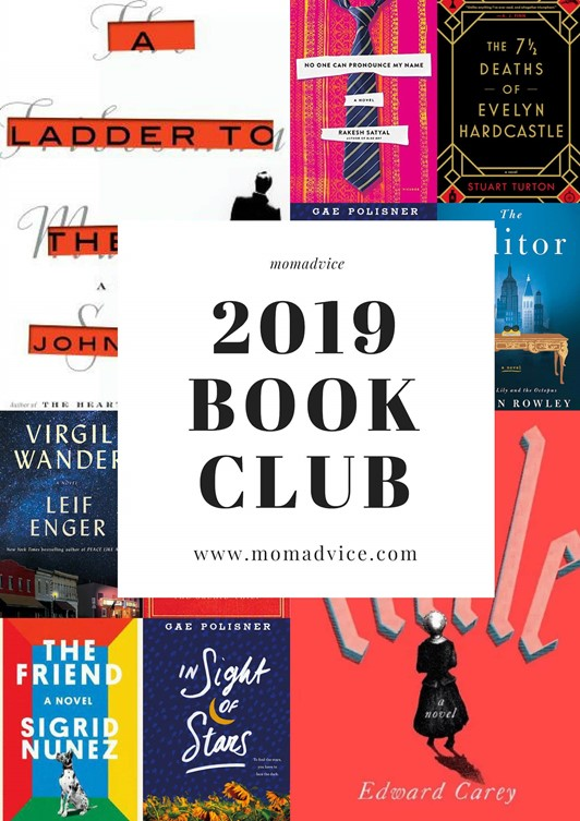 MomAdvice 2019 Book Club Selections