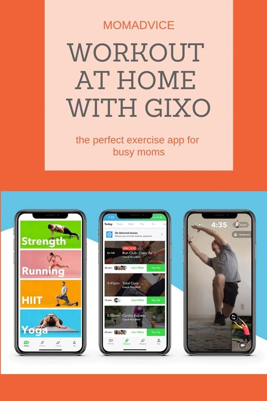 Gixo Fitness App for the New Year (GIVEAWAY!!!)