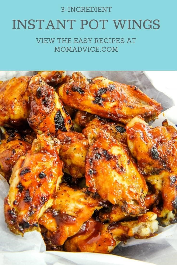 Best Instant Pot Wings Recipe from MomAdvice.com