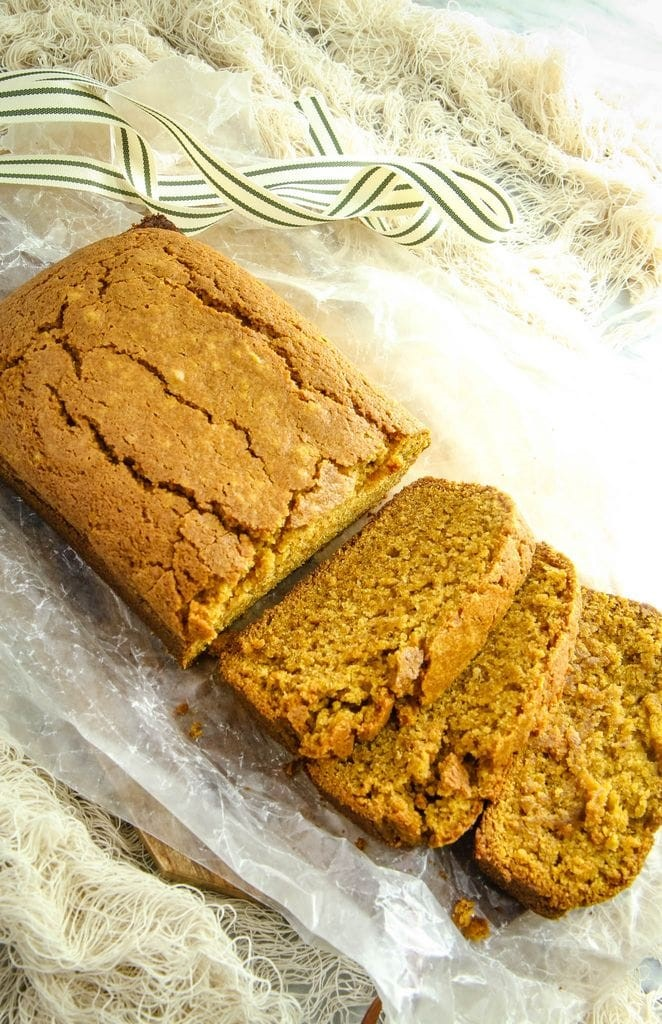 Easy Homemade Gluten-Free Pumpkin Bread Recipe
