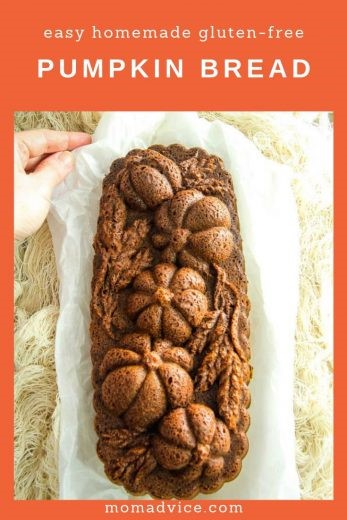 Easy Homemade Gluten-Free Pumpkin Bread