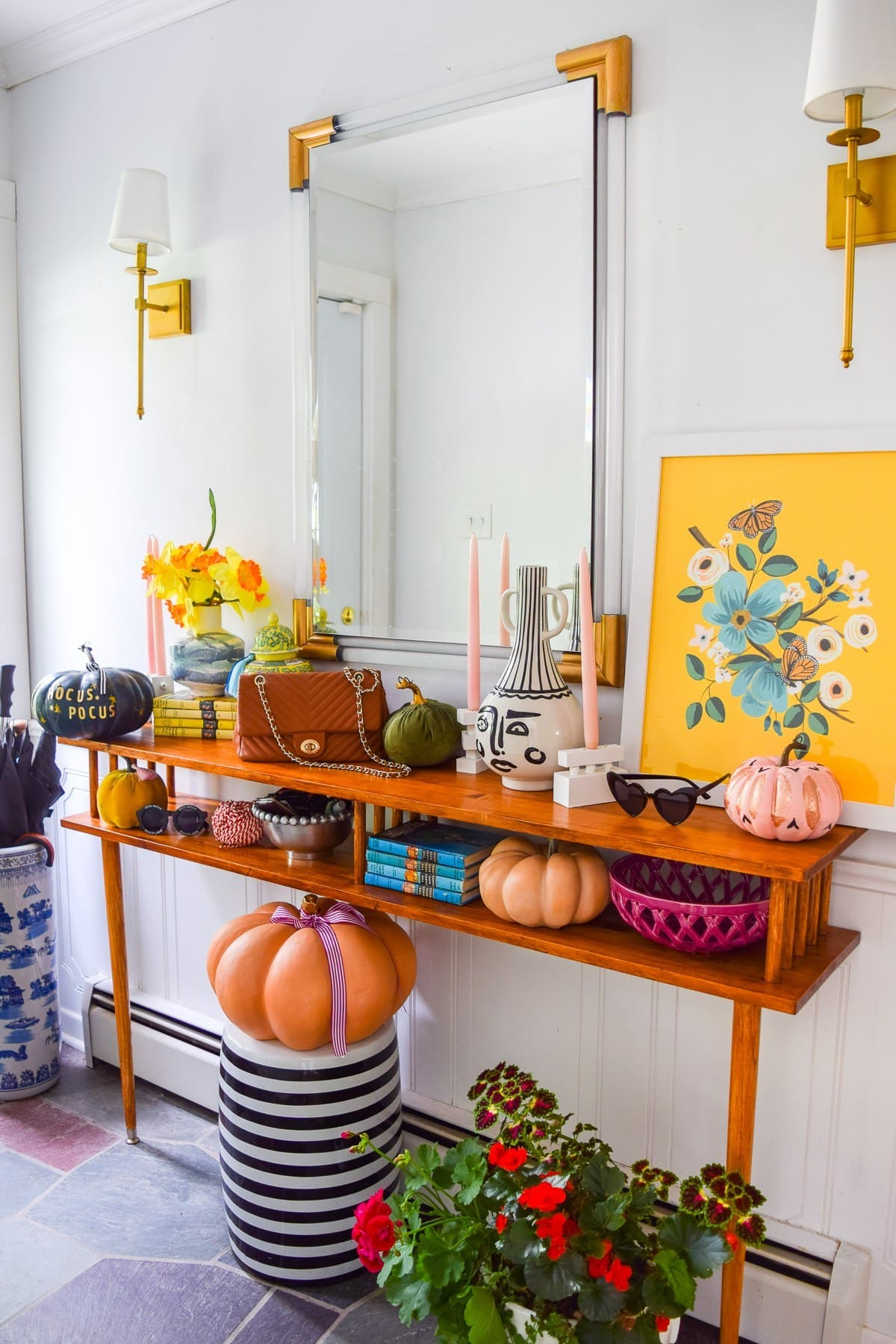 colorful fall decorating ideas