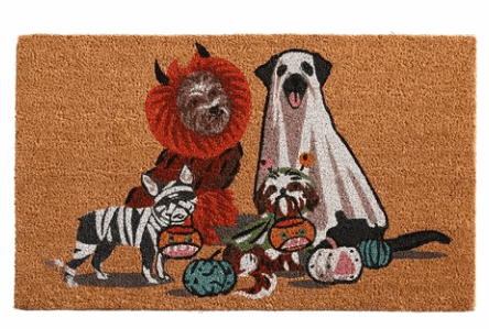 costume pet doormat