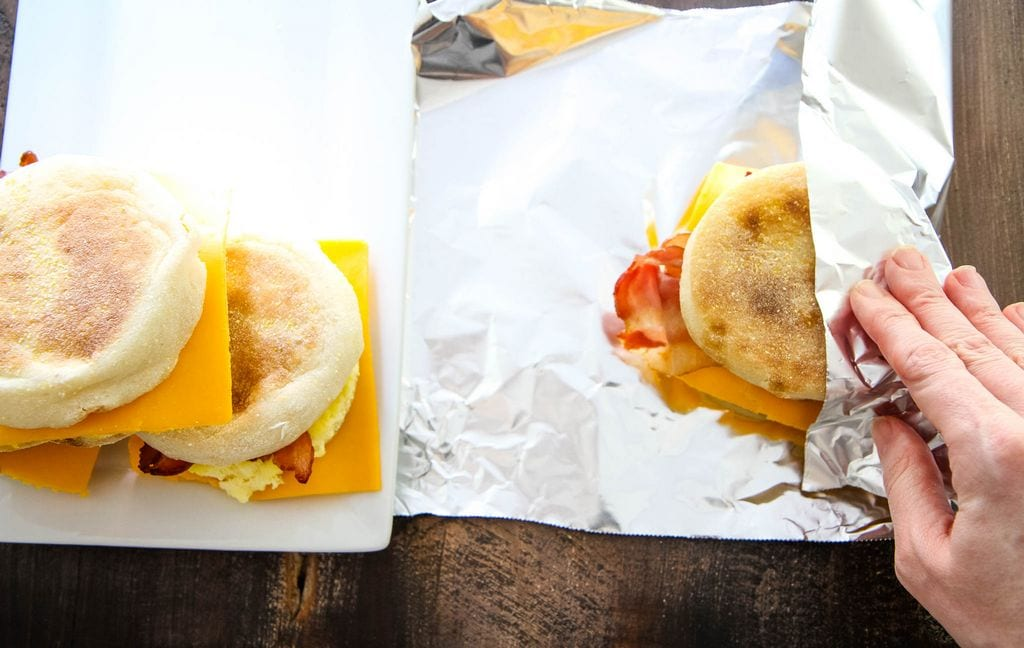 Meal Prep Breakfast Sandwiches Recipe from MomAdvice.com