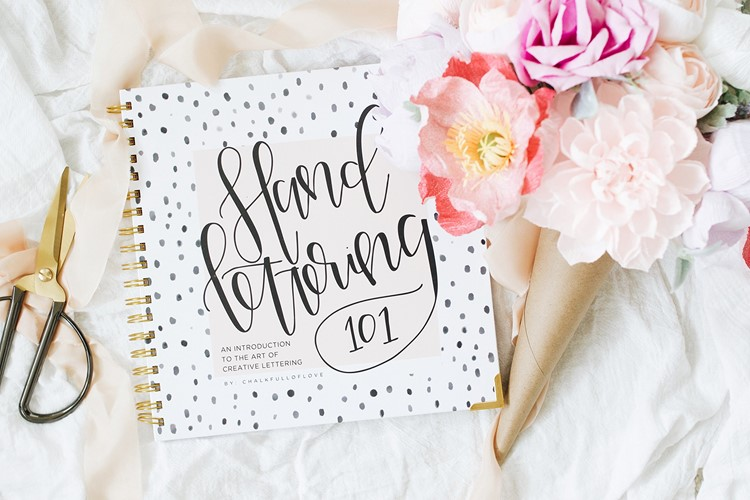 hand lettering 101 book