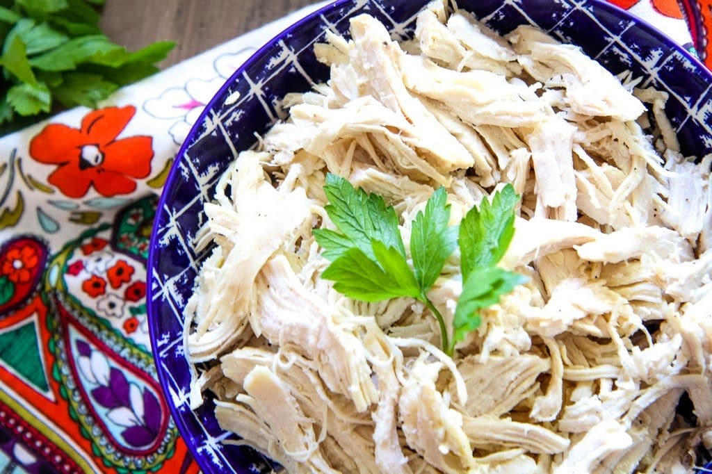 Instant Pot Shredded Chicken from MomAdvice.com