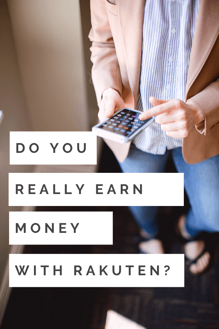Real Rakuten Results Cash Back Earnings Report from MomAdvice.com