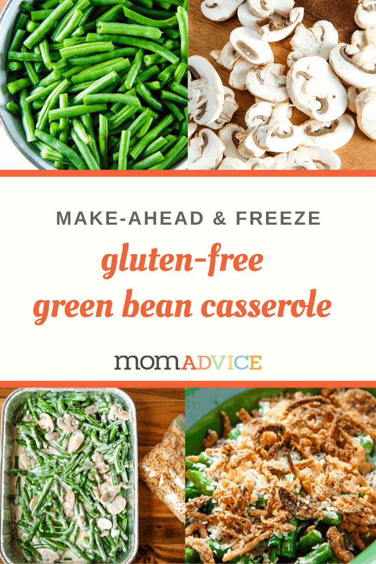 Make-Ahead Green Bean Casserole from MomAdvice.com
