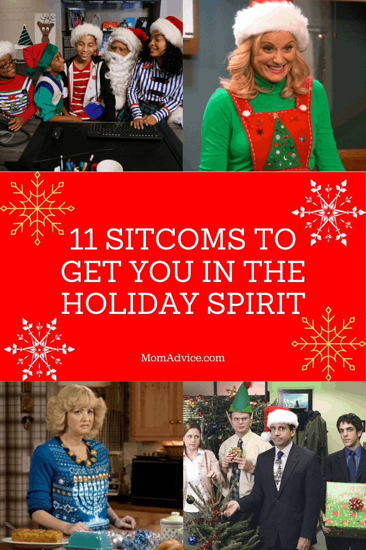 Sitcoms for Holiday Spirit from MomAdvice.com