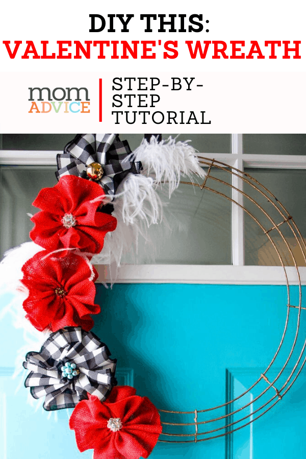 DIY Burlap Pom Pom Wreath