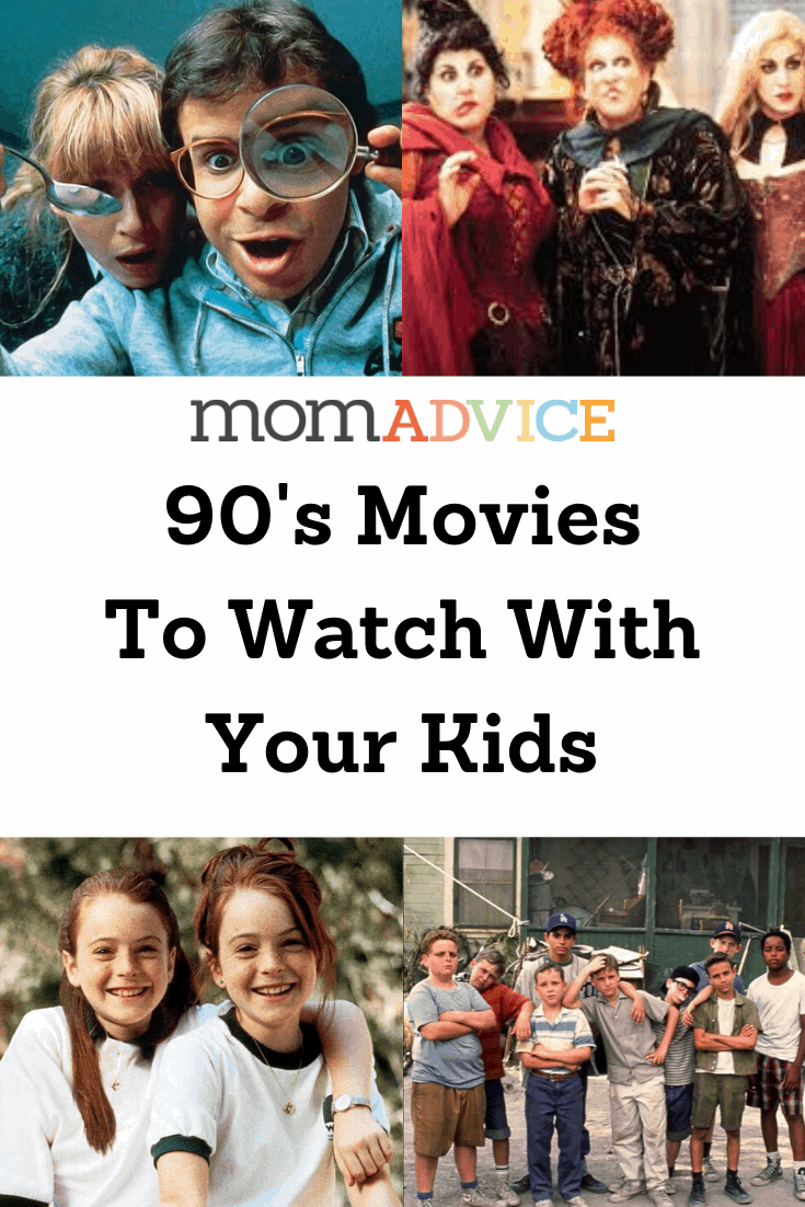 90's Movies to Watch with Kids