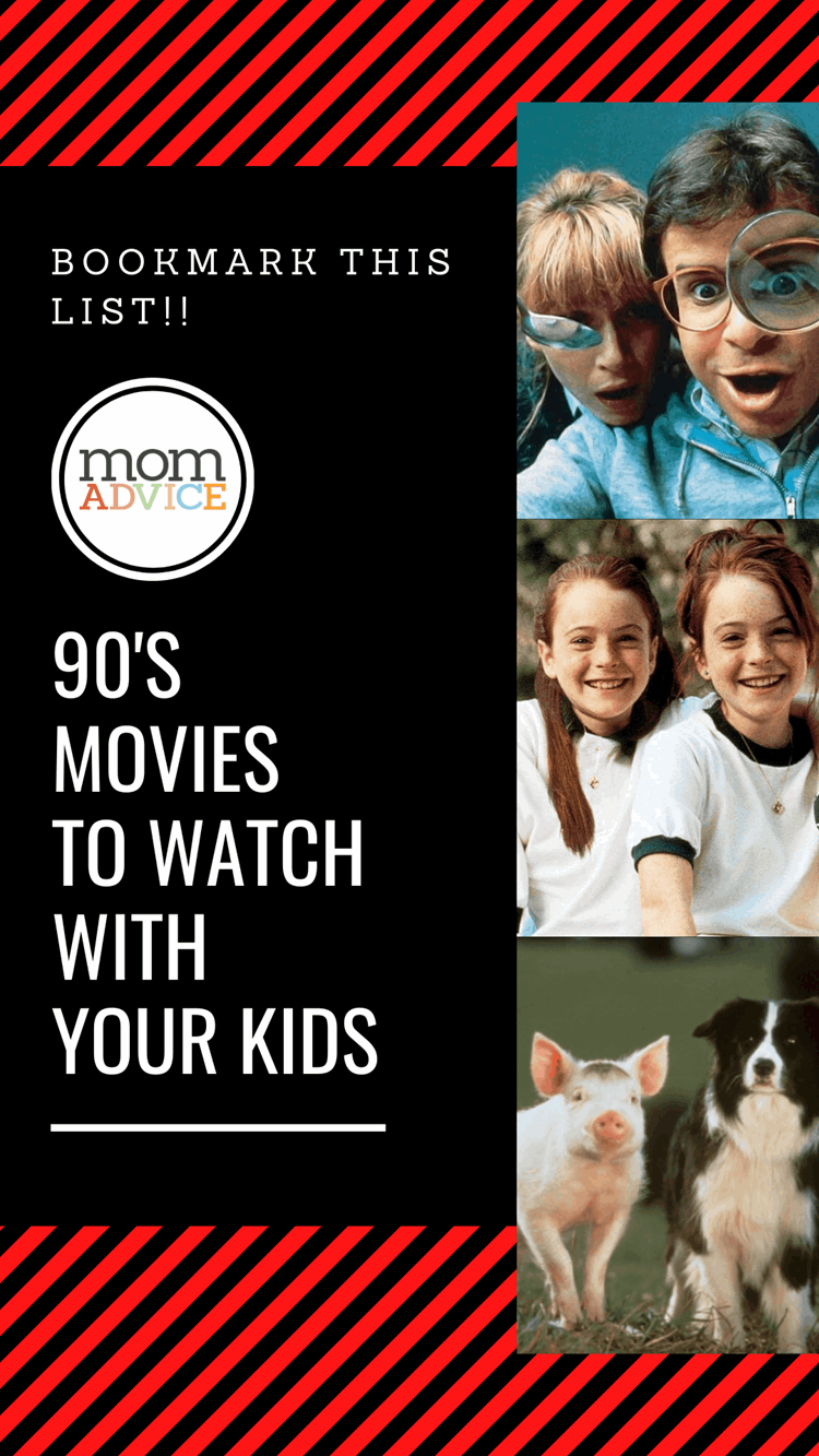 17 Movies From the 90's You Must Share With Your Kids