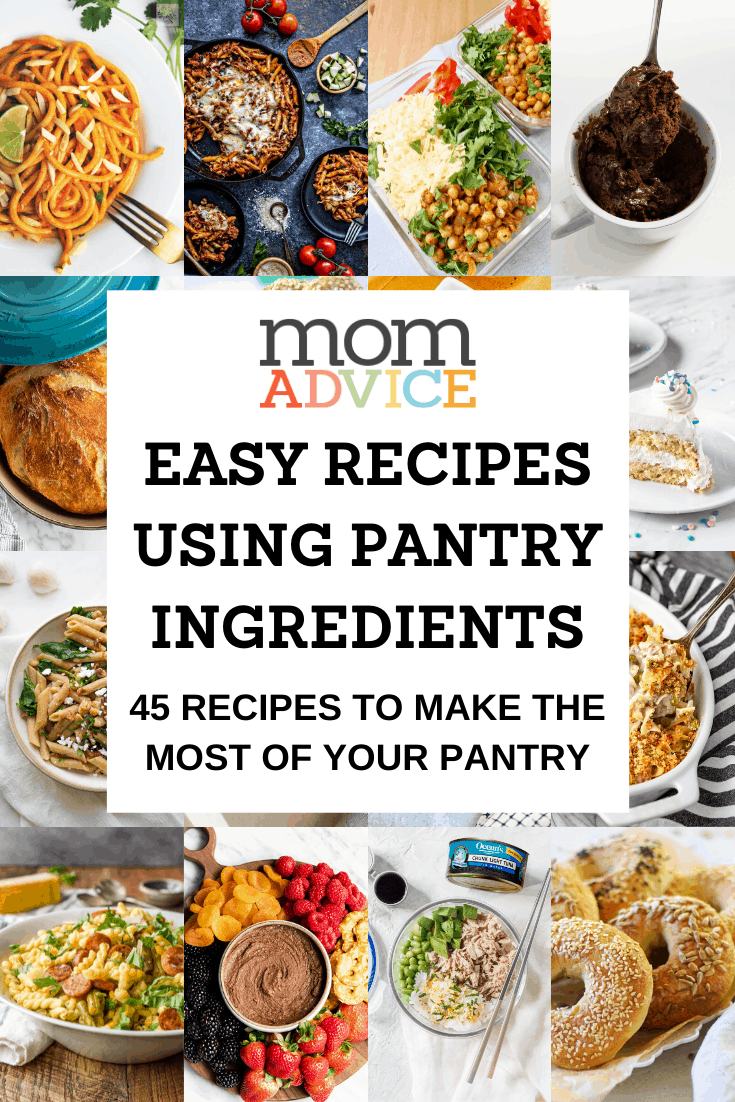 45 Easy Recipes Using Pantry Ingredients