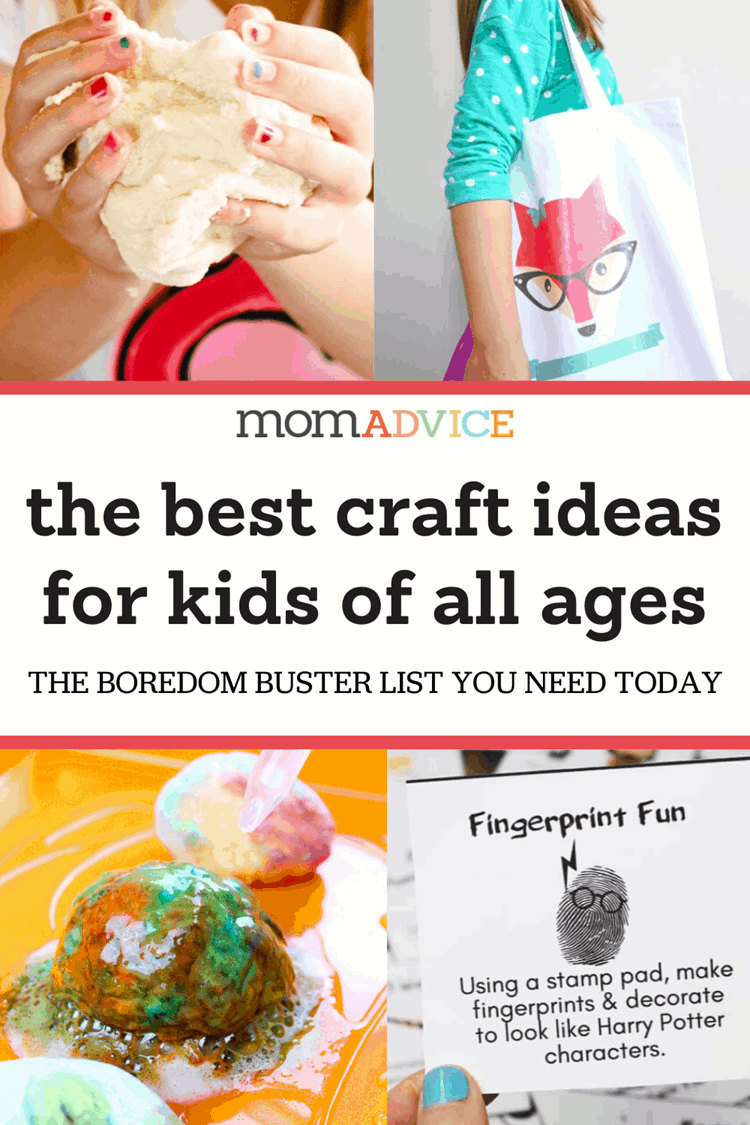 Easy Crafts for Kids to Keep Them Entertained Header
