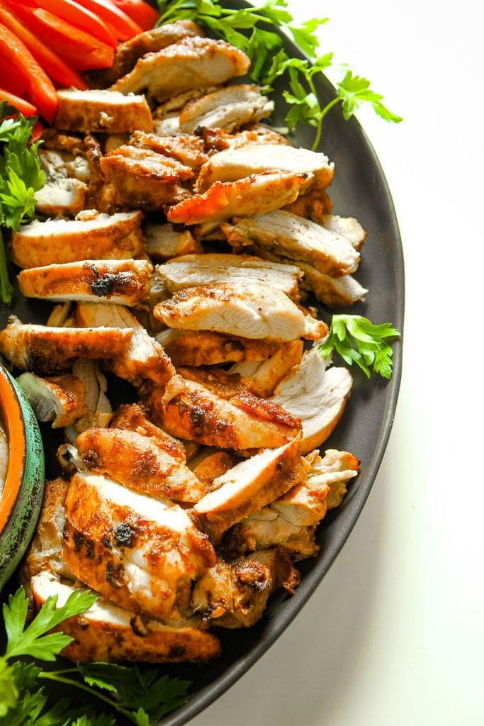 Chicken Shawarma Sheet Pan Meal