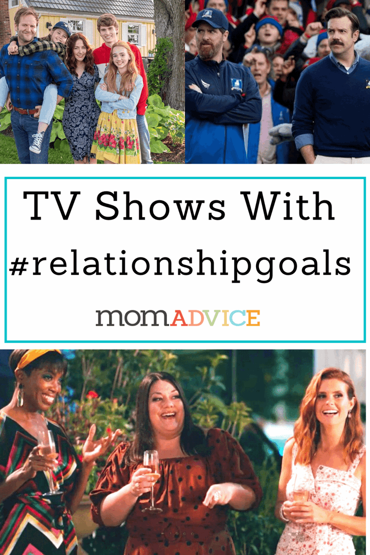 #RelationshipGoals from TV / MomAdvice.com