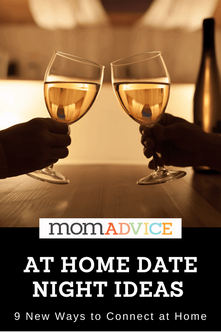 At Home Date Night Ideas from MomAdvice.com