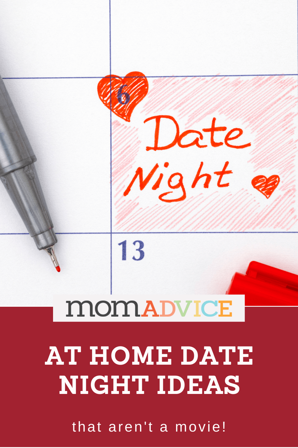 At Home Date Night Ideas from MomAdvice.om