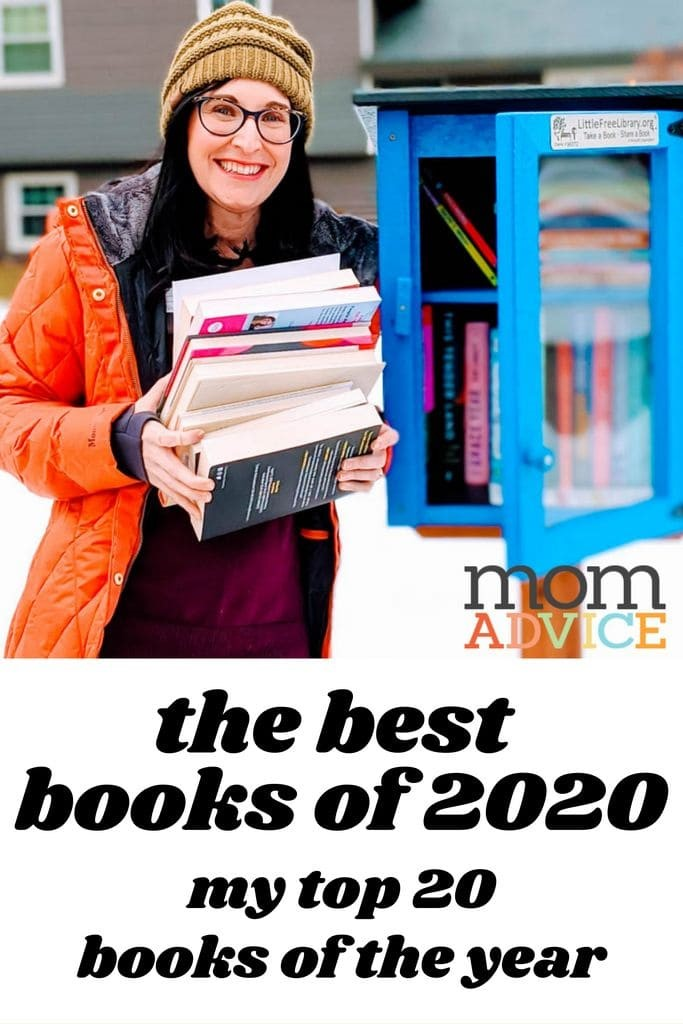 The Best Books of 2020 from MomAdvice.com