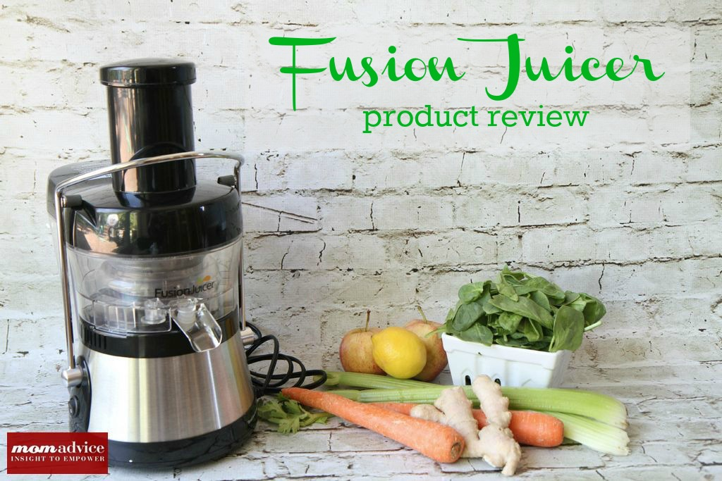 Fusion Juicer Review Momadvice The Motherloot