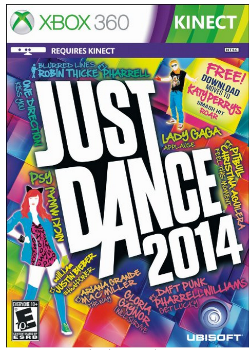 Just Dance 2014 Review from MomAdvice.com.